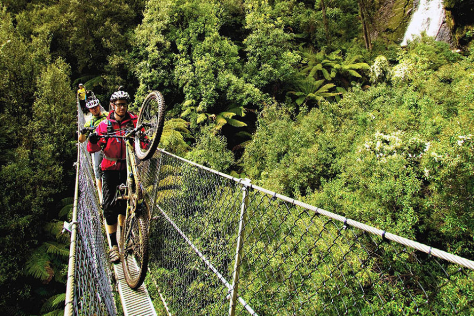 Mountain biking Tasmania: West Coast – Go Behind The Scenery